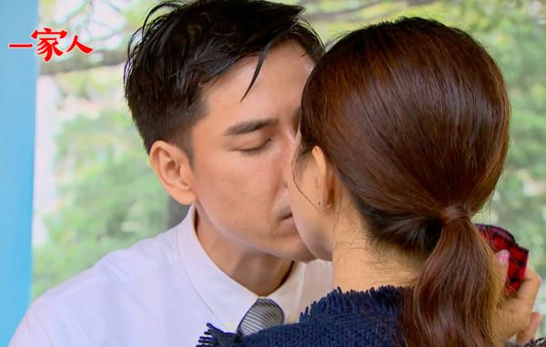 ▲丁力祺雨中激吻好友妻子李亮瑾,《一家人》被轟亂演。(圖/翻攝一家人臉書)