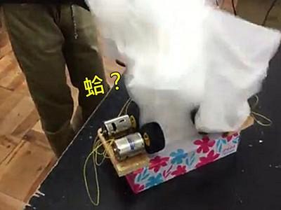狂!自製「抽衛生紙機」,渦輪催落去→1分鐘噴乾2000張