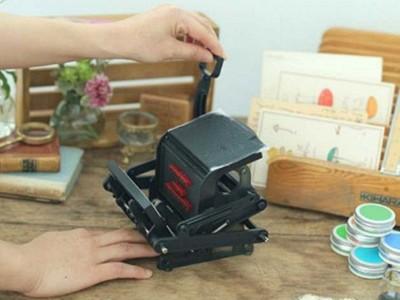 文具控尖叫!「迷你活版印刷機」在家完成夢想,想印什麼都行唷
