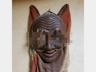 祖父遺物拿上網賣!「詛咒紅面具」每次看都長不一樣...