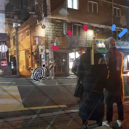 ▲GD、T.O.P深夜在梨泰院街頭相會。(圖/翻攝自IG)