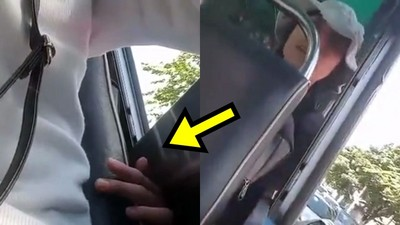 五指反扣南半球!女孩搭車胸前怪觸感...自拍錄下癡漢鹹豬手