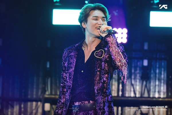 BIGBANG大聲。(圖/翻攝自BIGBANG臉書)