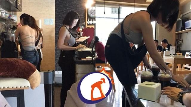 「C罩杯咖啡館」女員工偷偷加乳量 男客喊讚:真的是特大杯!