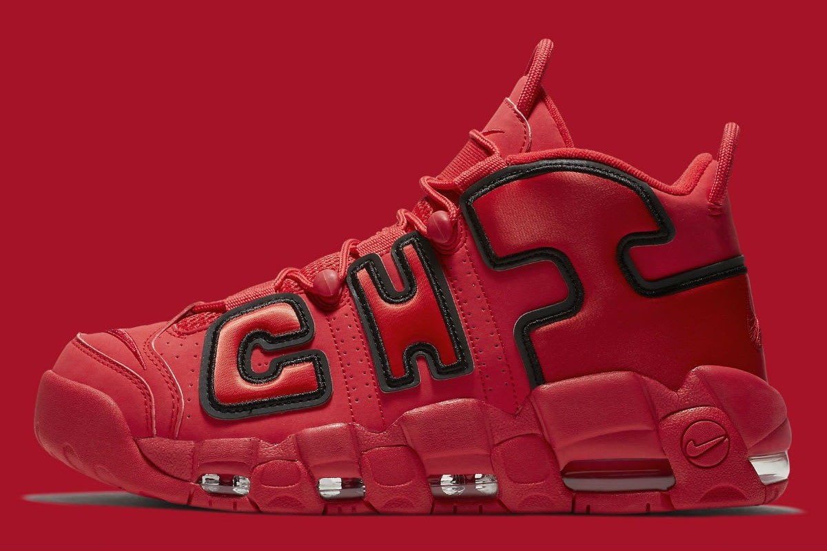 ▲Nike Air More Uptempo Chicago。(圖/翻攝自nike)