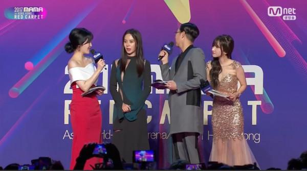 ▲2017MAMA香港場紅毯宋智孝。(圖/翻攝自Mnet)