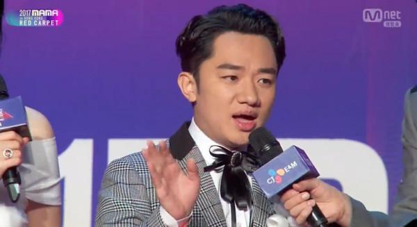 ▲2017MAMA香港場紅毯王祖藍。(圖/翻攝自Mnet)