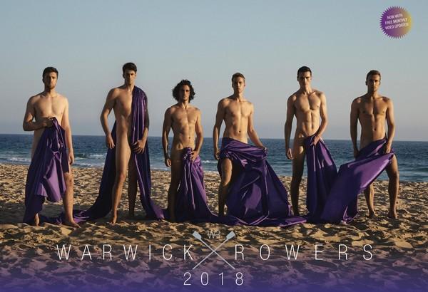 ▲2018年的華威大學划船隊月曆(圖/翻攝自The Warwick Rowers Calendar FB、warwickrowers.org)