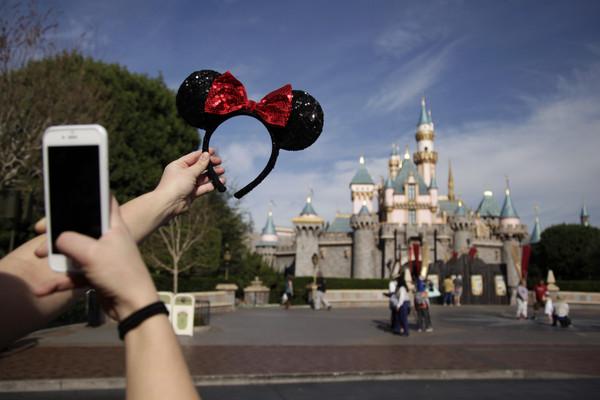 ▲▼美國加州迪士尼樂園。(圖/達志影像/美聯社)