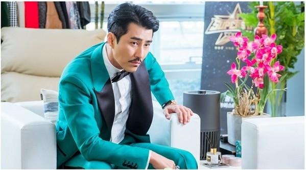 ▲車勝元《花遊記》牛魔王扮相。(圖/翻攝自tvN)