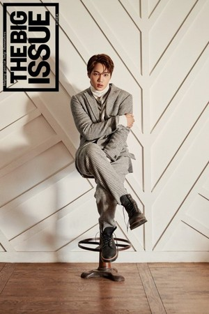 ▲EXO KAI拍攝《THE BIG ISSUE》雜誌。(圖/翻攝自THE BIG ISSUE KOREA)