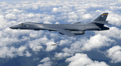 美韓大聯合演習出現B-1B轟炸機