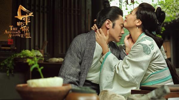 ▲劉濤《軍師聯盟》飾演吳秀波正官張春華。(圖/中視提供)
