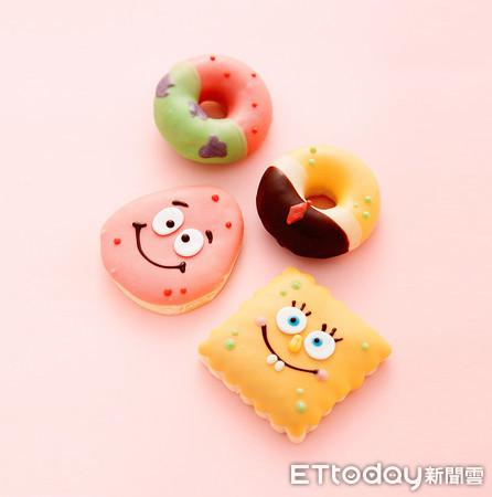 ▲海綿寶寶甜甜圈與麵包。(圖/DayDreamer提供)