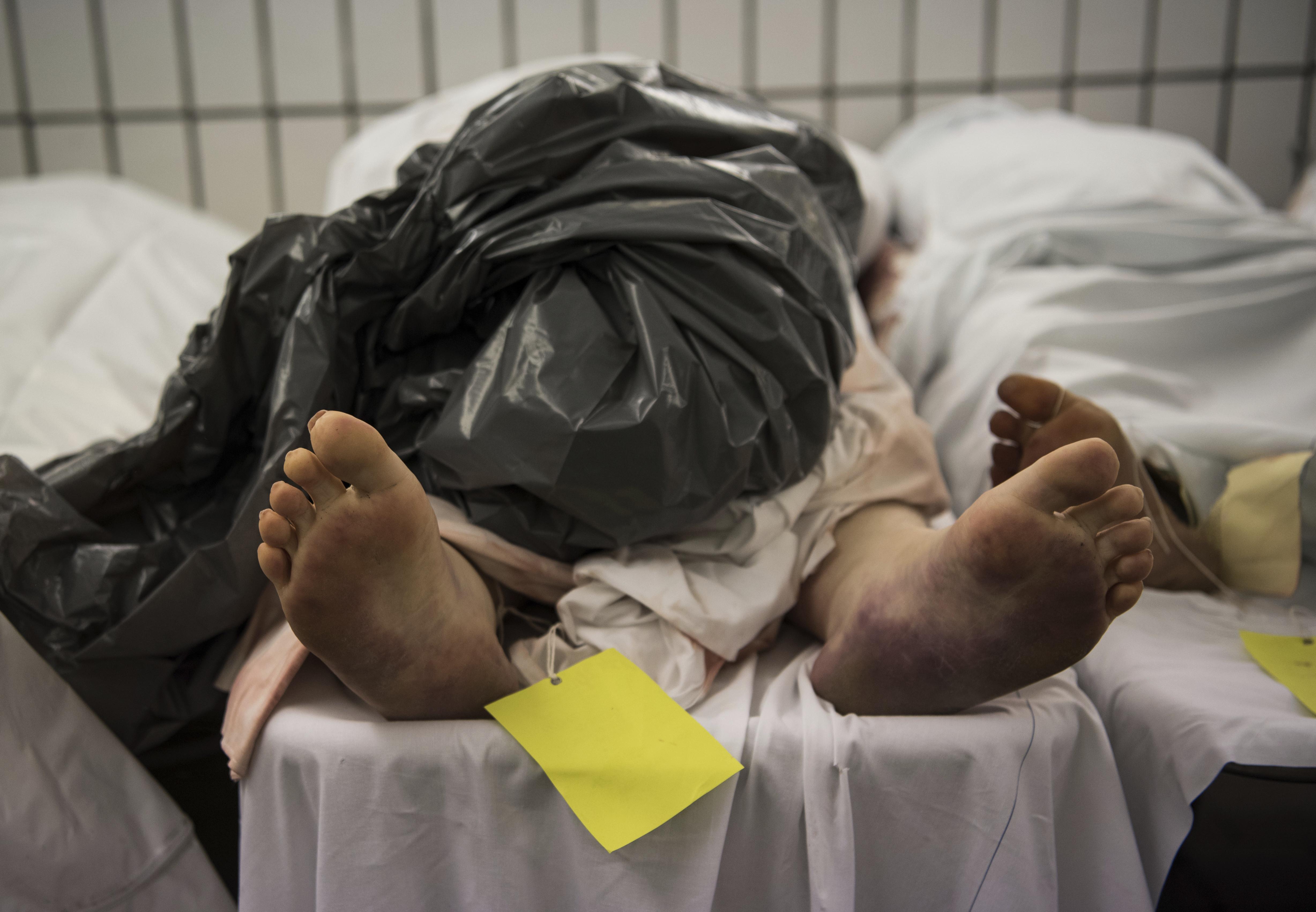 ▲▼屍體、遺體、殺人、行兇、殺害、太平間、停屍間。(圖/達志影像/美聯社)