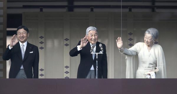 明仁天皇2019年4月30日退位 「平成」時代於第31年畫上句點