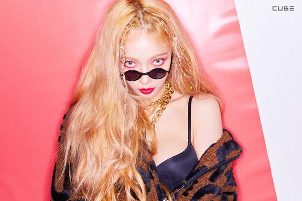▲泫雅新专辑《Lip & Hip》。(图/翻摄自泫雅IG、CUBE娱乐官网)