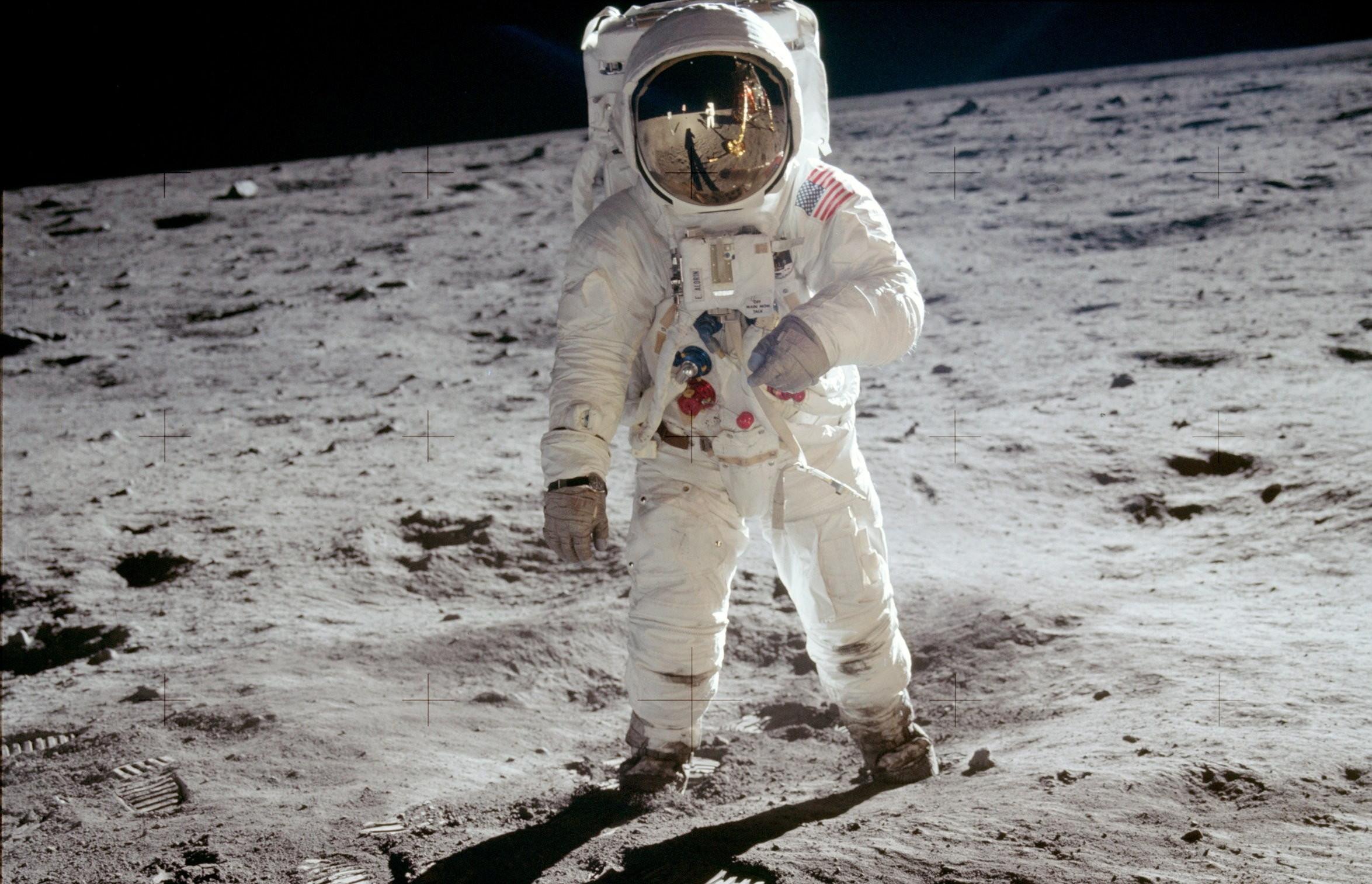 ▲阿姆斯壯登上月球,距今已經48年。(圖/台北天文館提供)