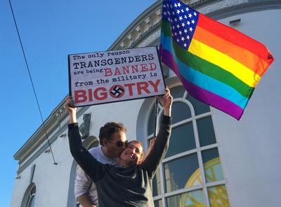 美「跨性別從軍」禁令30天後生效