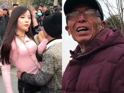 幼齒奶妹佔廣場舞狂扭…圍觀人數暴增 大爺怒:不做正事!
