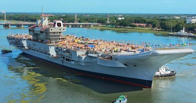印度宣布3年內開工第3艘航母