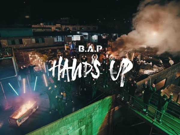 ▲B.A.P《HANDS UP》MV造型。(圖/翻攝自YouTube 1theK)