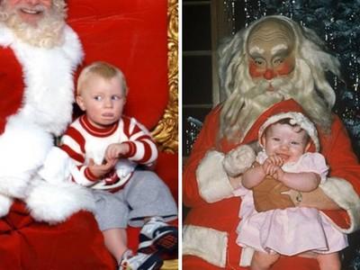 看到聖誕老人會怕!男童鏡頭前比求救手勢 每年耶誕節都被笑