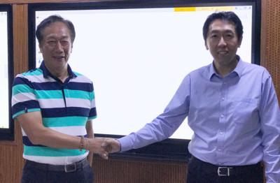 鴻海衝工廠AI化 找谷歌大腦共同創辦人吳恩達助陣