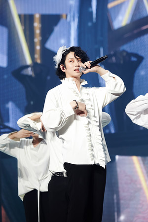▲Super Junior《Super show 7》Seoul,利特、希澈、始源、東海、神童、銀赫、藝聲。(圖/S.M. Entertainment提供)