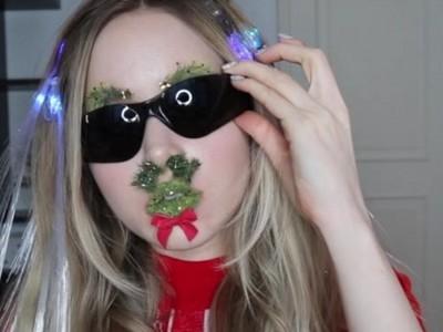 過敏勿試!外國網美瘋「鼻毛聖誕樹」 這算時尚還是ㄎㄧㄤ?