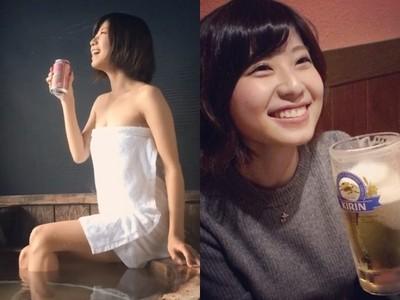 「日灌啤酒1500天」女模近拍身材變化 網驚:長大了