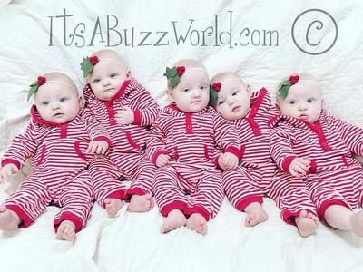 「2打6」育兒地獄實錄!不孕夫妻生5胞胎+1 一家8口變網紅
