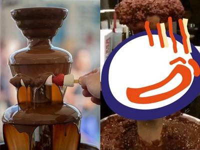 巧克力鍋失敗慘變「烙賽噴泉」 甜食控點出:問題在溫度!