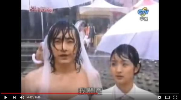 《一家人》蜜蠟、曉冬婚禮。(圖/翻攝自Youtube)