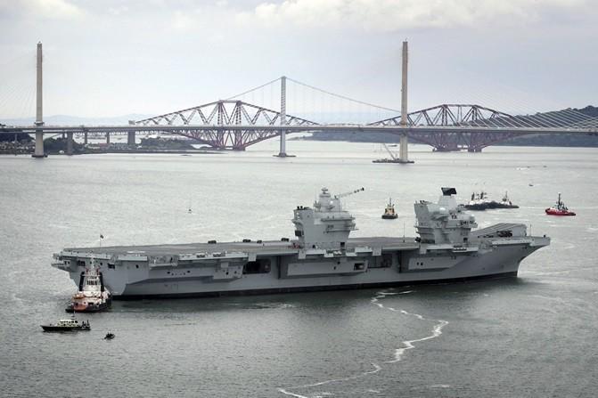 NATO,伊麗莎白女王號,航空母艦,南海,波斯灣戰爭,F-35