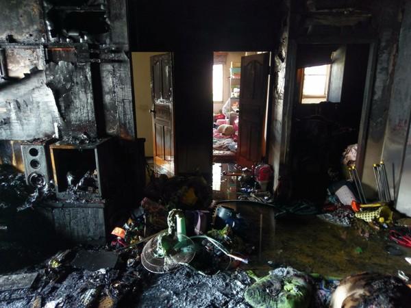 大火呼救逃不了!嘉義消防員搜索5人奇蹟無傷 這個動作救了全家