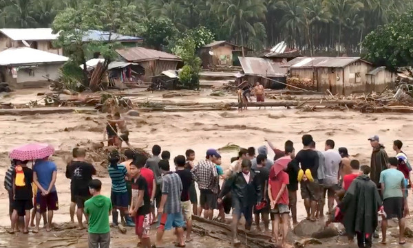 ▲菲律賓水災造成188死,160人失蹤。(圖/路透社)