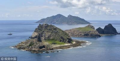 中國海警船進入「釣魚台海域」