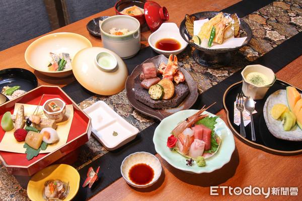 割烹日本料理光琳。(圖/記者黃士原攝)