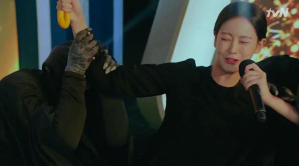 《花遊記》放送事故。(圖/翻攝自tvN)