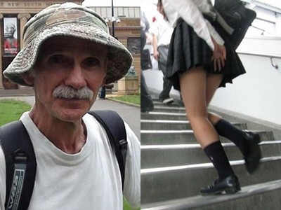 偷拍內褲當寫書靈感!老翁緊貼OL上樓梯 被逮自稱兩性作家