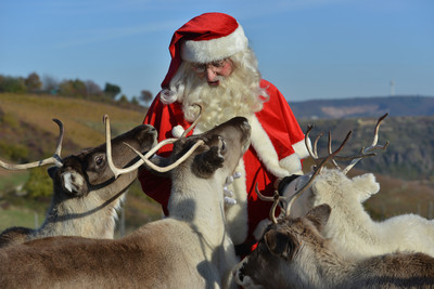 聖誕老人的交通出現危機! 瑞典乾旱和火災餓死馴鹿
