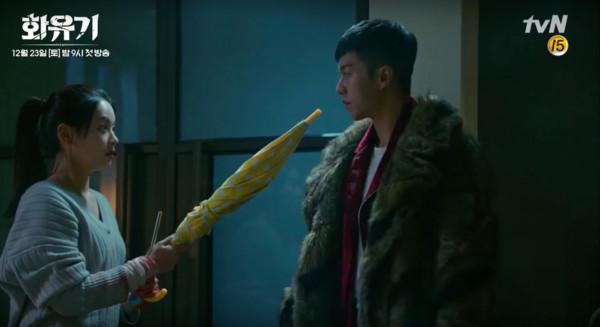 ▲▼ 喝唐三藏的血功力大增!《花遊記》李昇基:我來吃妳的(圖/翻攝自tvN)