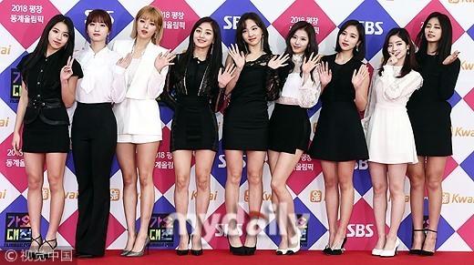 ▲SBS歌謠大戰TWICE、Wanna One、EXO、防彈少年團。(圖/CFP)