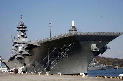 日本出雲號確定航母化 採購F-35B
