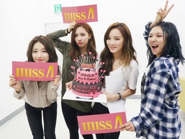 ▲miss A原先是由Fei、Jia、秀智和Min組成的4人團體。(圖/翻攝自miss A臉書)