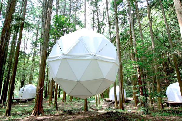▲靜岡INN THE PARK讓人可以睡在公園(圖/翻攝INN THE PARK 臉書、www.innthepark.jp)