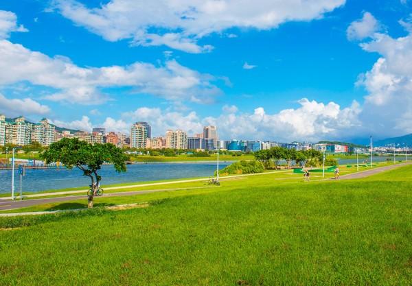 ▲美堤河濱公園。(圖/台北市政府提供)