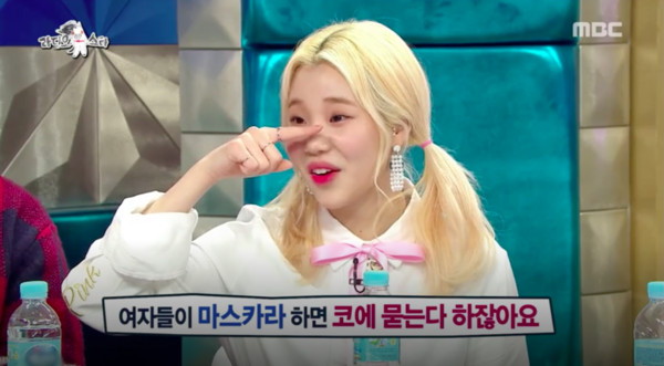 ▲▼18歲韓女星「鼻、眼連成一線」 承認整鼻:3個月就塌了(圖/翻攝自mbc)