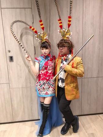 ▲▼納豆首同框閃❤國光女神依依(圖/翻攝自依依臉書、IG)